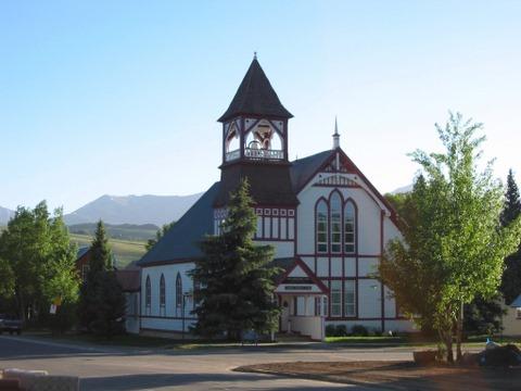 Church in the morning