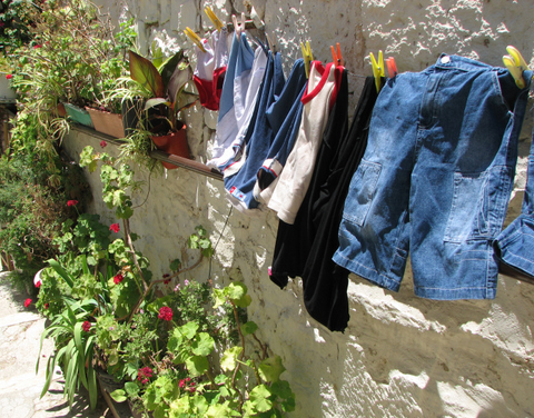 Clothes Drying in the Christian Quarter