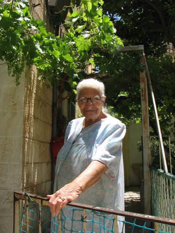 94 Years Old Arab Christian Lady