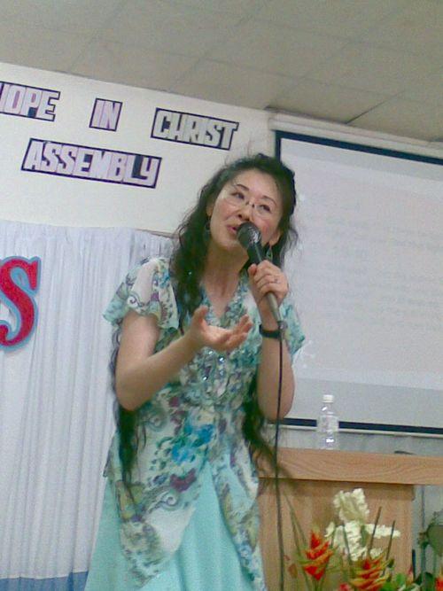 Preaching at Faith and Hope Church in Hsin Chu, Taiwan