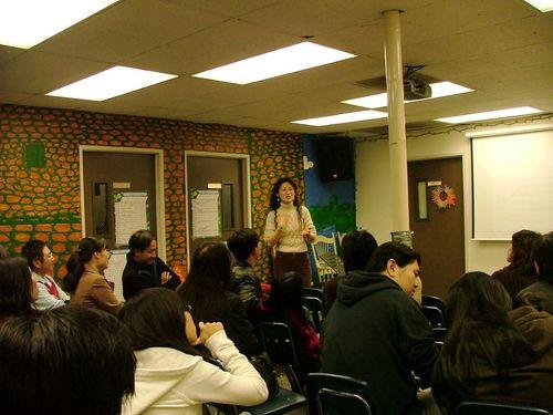 "Sharing ""The Wonder Journal"" @ Gospel Fellowship, EFCLA, El Monte, CA, US"