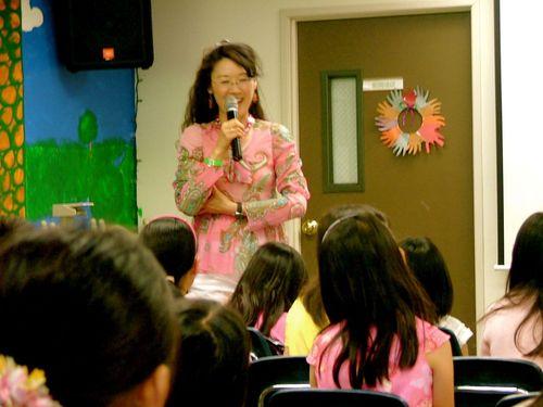 """Sharing """"The Wonder Journal"""" @ Children's Church of EFCLA, El Monte, CA, US"""