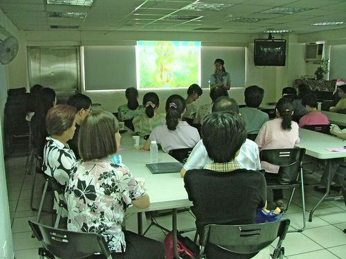 "Sharing ""The Wonder Journal"" @ Nankang Grace Baptism Church, Taipei"