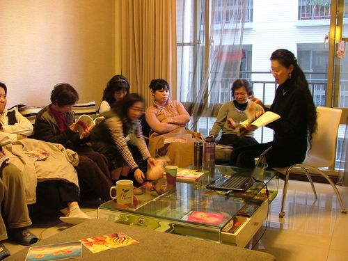 "Sharing ""The Wonder Journal"" @ Fanny's Home Fellowship, Taoyuan, Taiwan"