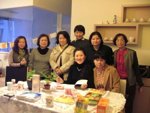 "Sharing ""The Wonder Journal"" @ Fanny's Home Fellowship, Taoyuan, Taiwan"
